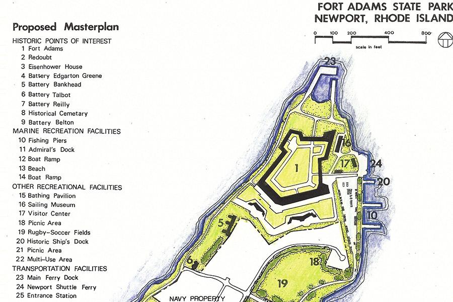 Fort Adams State Park: Newport, Rhode Island