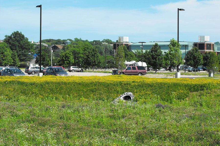 URI Flag Road and Parking Lot Extension