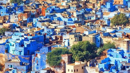 Jodhpur blaue stadt 16-9