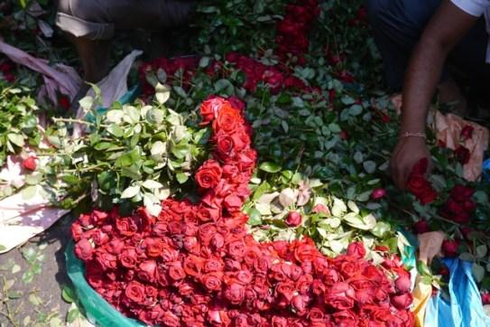 Kolkata flower market 7
