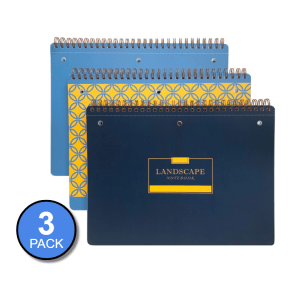 Landscape Notebook 3 Pack (Variety)
