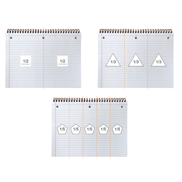 Landscape Notebook Column Dividers