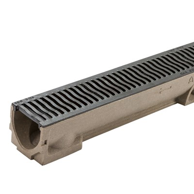 Aco Raindrain Cast Iron B125 Channels