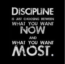 now or later discipline