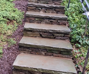 Hardcspes and Steps by landscape Solutions & Maintenance