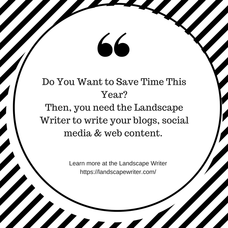 How to Save Time & Still Publish Blog Posts to Your Landscaping Website