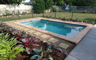 A Landscaping Job around a Pool (Case Study)