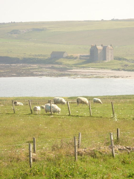 Image of View from B&B for Lands End to John O'Groats - My End to End