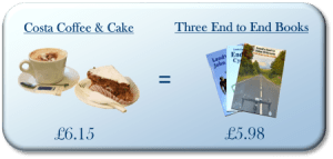 Image for Lands End to John O Groats Special Offer - coffee = books