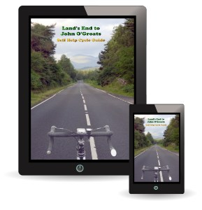 Self Help Guide Book for Cycling Lands End to John O'Groats - Image