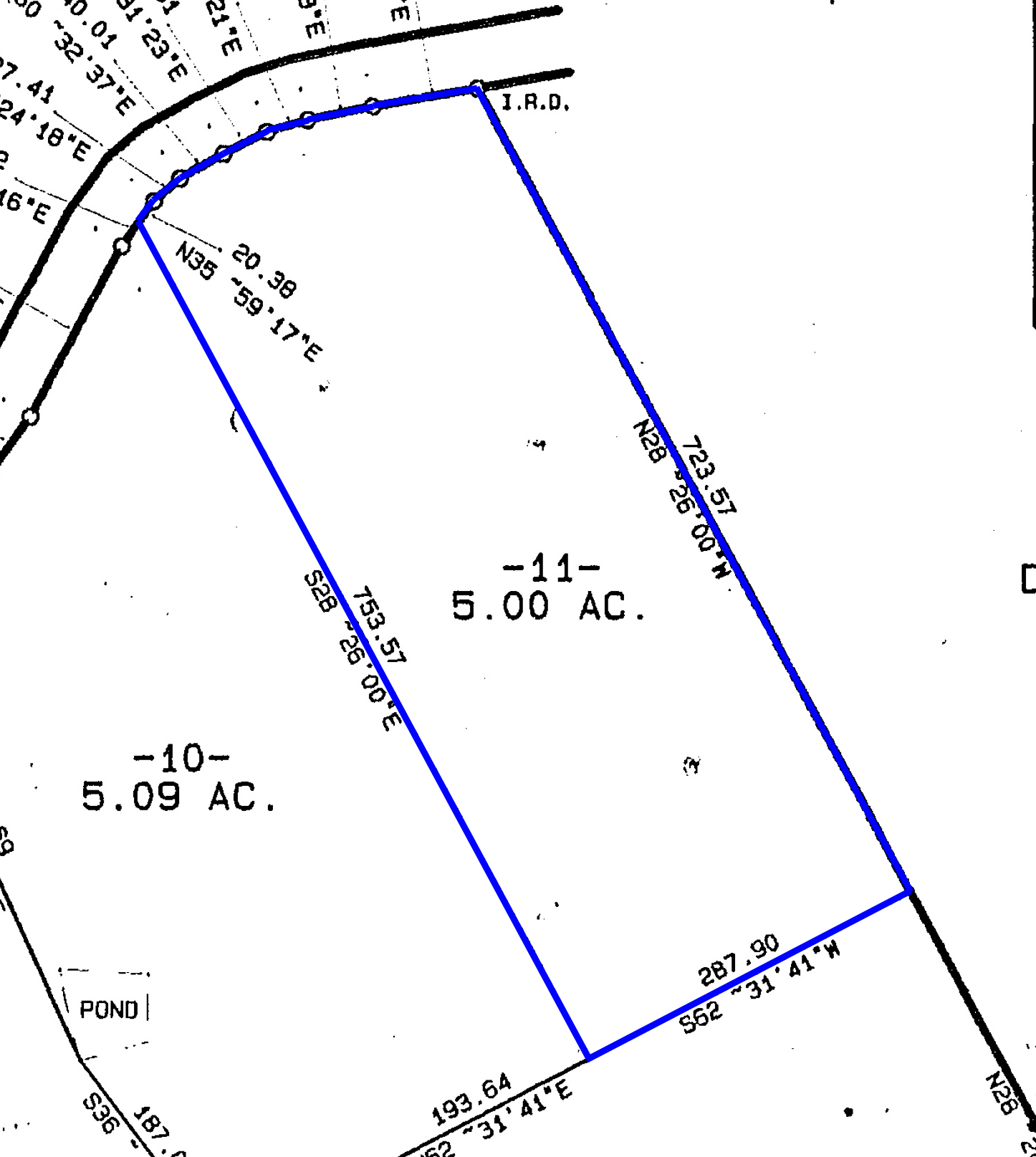 Partially Fenced 5 Acre East Tn Tract