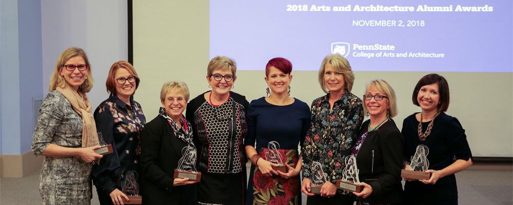 Penn State University's College of Arts and Architecture Alumni Society Awards LandStudies President