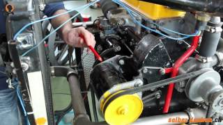 Stromkreislauf beim Motor