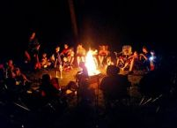 One of our groups does an annual camping trip. This group has multiplied a couple of time, so their extended family does this all together.