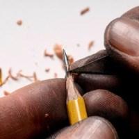Què es pot fer amb la punta d'un llapis?