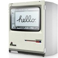 Funda Macintosh classic per iPad