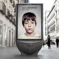 L'anunci de maltractament infantil que només poden veure els nens es fa viral