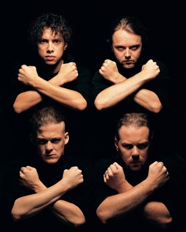 La fotografia que Mark Seliger va fer a Metallica al 1991