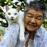 La bella història d'una dona i el seu gat en 17 fotografies