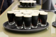 A snapshot taken during a tour of the Guiness factory in Dublin. I wish I could say I liked the drink as much as I like the photo.
