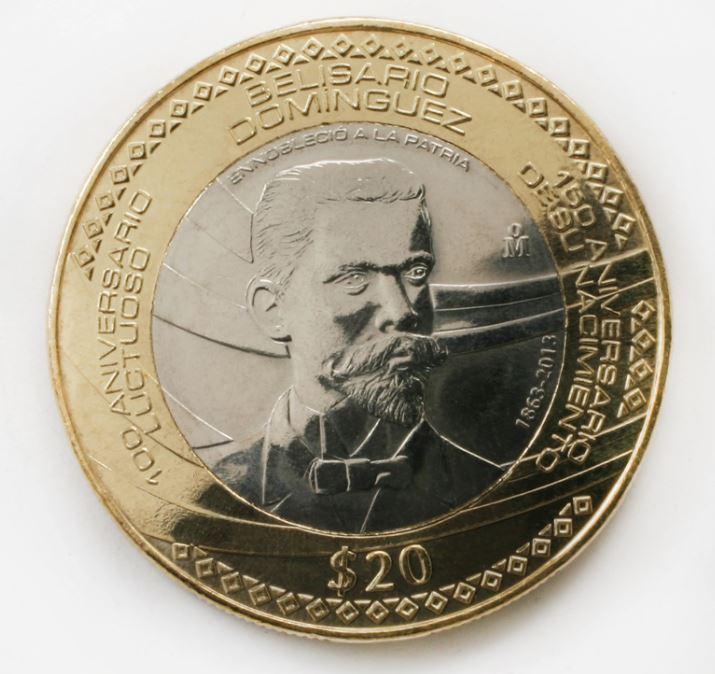 Conoce hasta cuánto pagan por las monedas de 20 pesos de Belisario ...