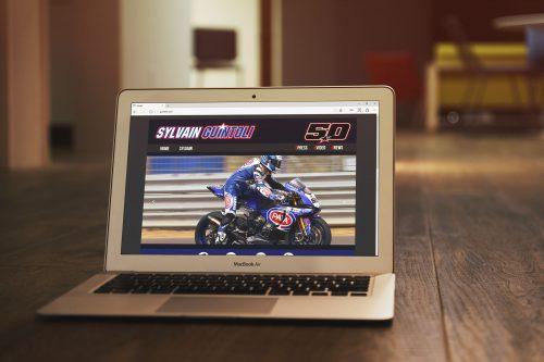 Sito ufficiale del campione del mondo 2014 SBK: Sylvain Guintoli