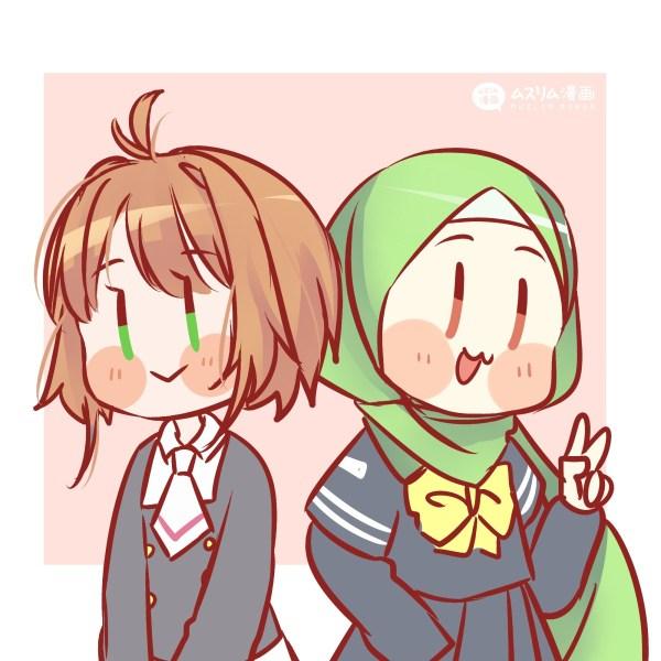 Fanart Aya und Sakura