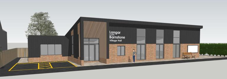 Proposed new village hall