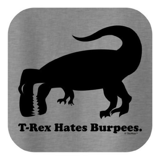 T-Rex-Hates-Burpees-Tank-Top
