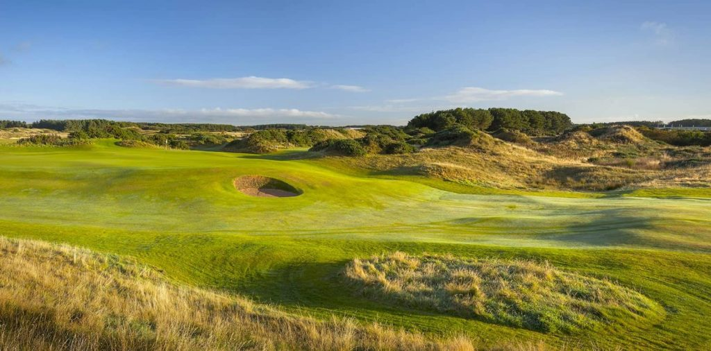 Sunny Day Dundonald Golf Course