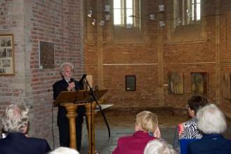 Erik de Vries opent de bijeenkomst