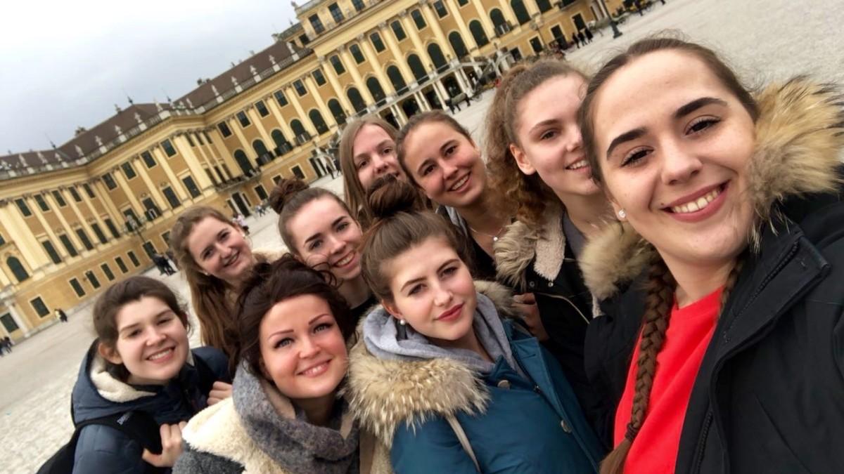 U20-Mädchen in Wien erfolgreich !