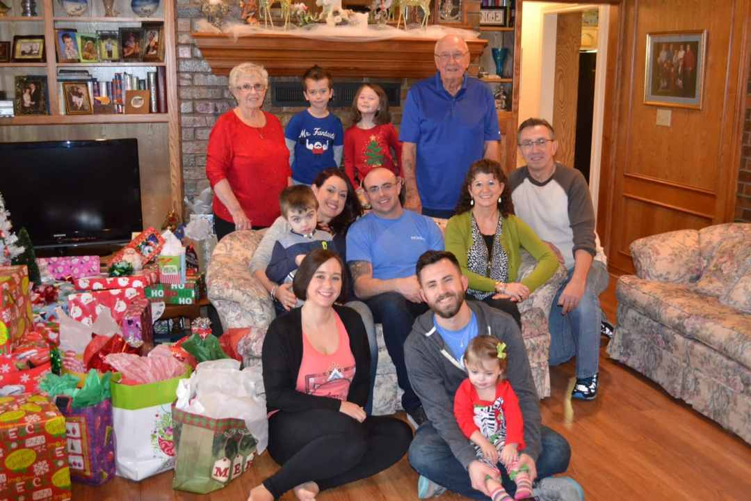 Tracy Lange's Family