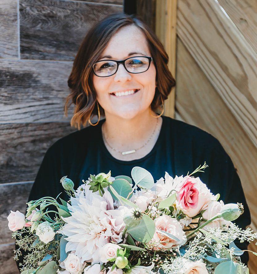 Stephanie Lang, Owner Lang Floral Designs