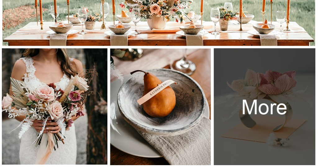 Earthy Wedding Colors