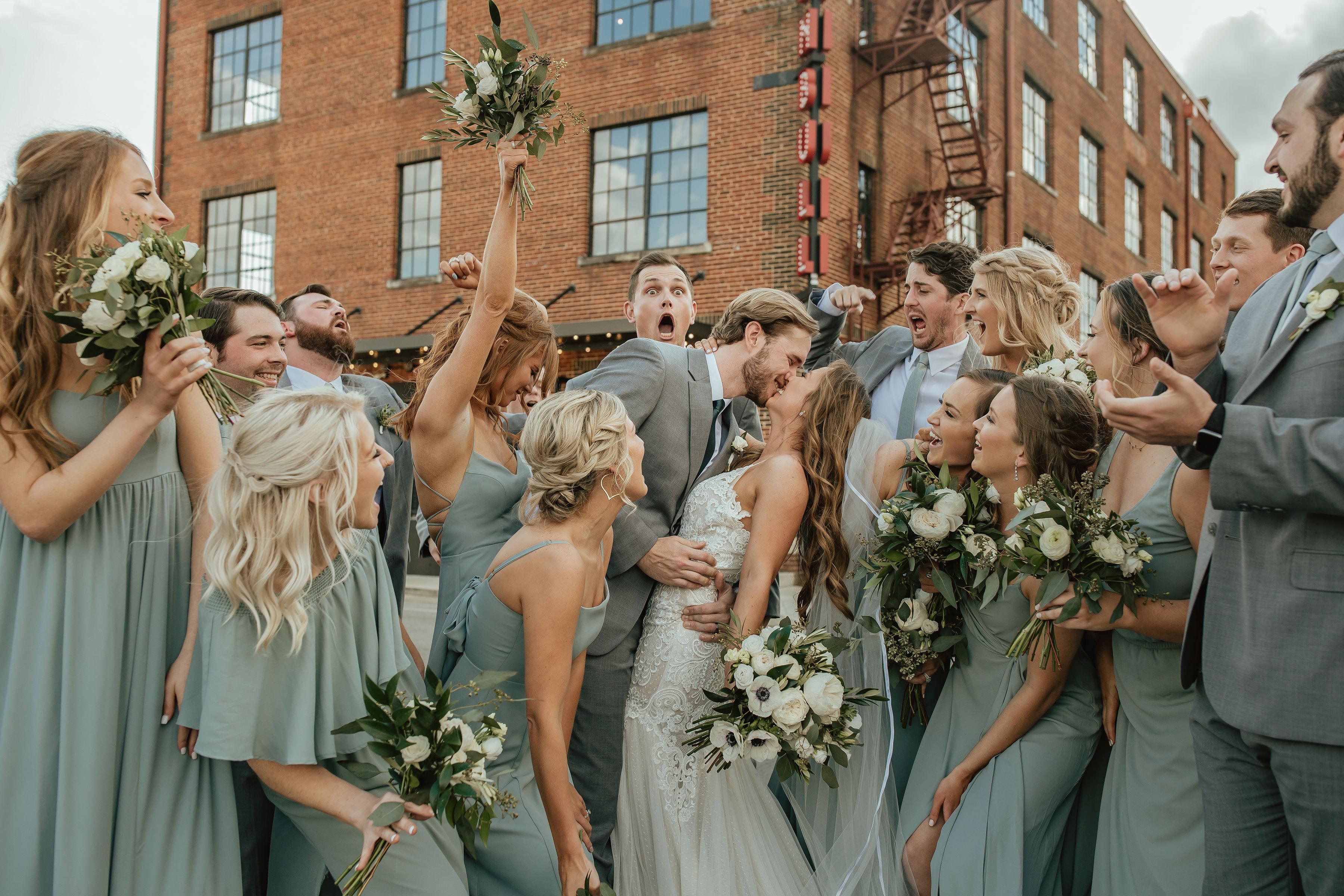 White Flowers Wedding Greenery, Lang Floral Designs, Chattanooga Wedding Florist, Chattanooga Wedding Coordinator