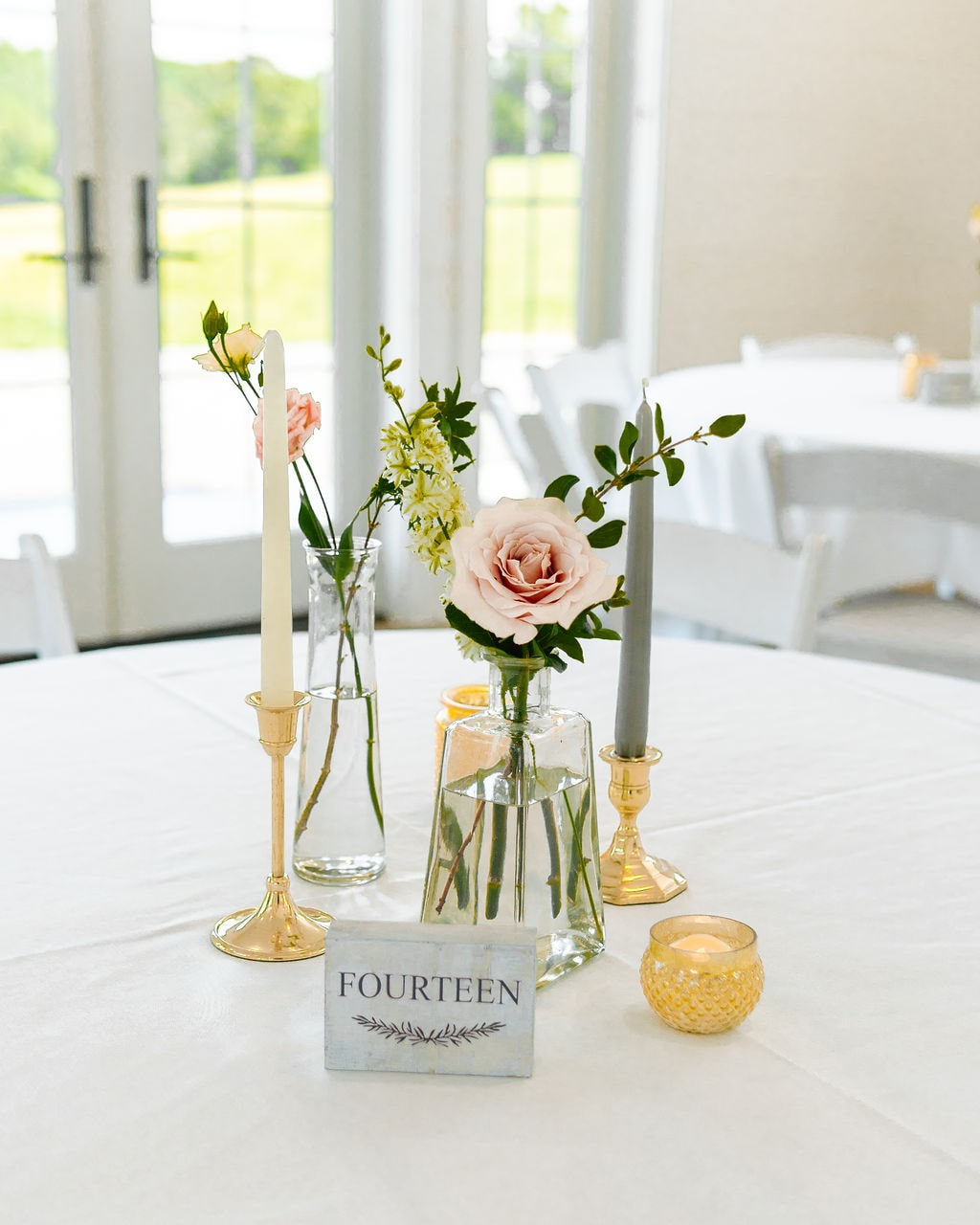 Bud Vases, Chattanooga Wedding Florist, Chattanooga Wedding Coordinator, Lang Floral Designs
