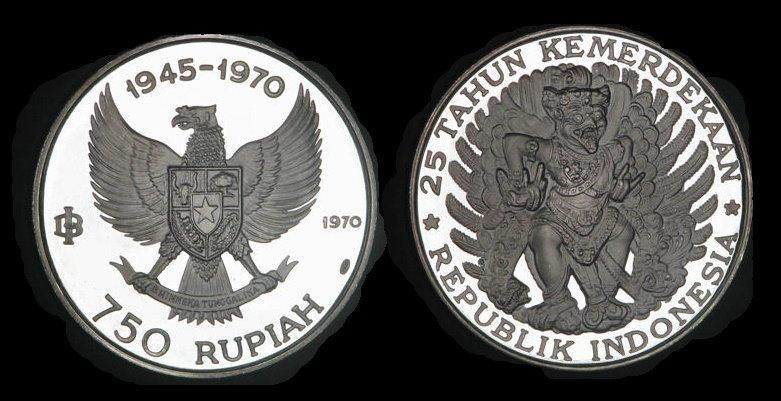 uang kuno 740 rupiah