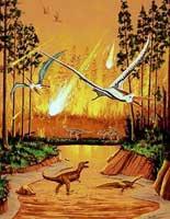 Pemusnahan besar-besaran oleh meteorit