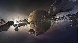 Animasi pembentukan planet. Kredit : Eyes on the skies