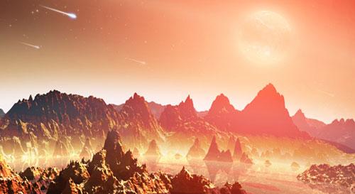 Impresi artis untuk planet muda yang tengah mengorbit bintang dingin. Kredit : NASA