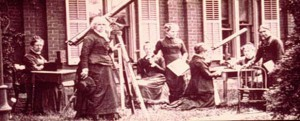 Maria Mitchell, astronom wanita pertama di Amerika yang menemukan komet. Kredit : Barkeley