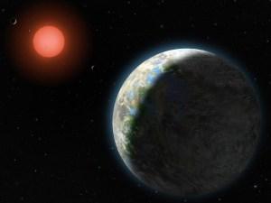 Ilustrasi GJ 581 g