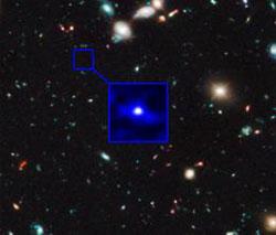 Galaksi Tertua Yang Kesepian di Awal Alam Semesta