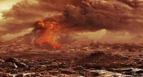 Venus Express menemukan aktivitas vulkanis di Venus. Kredit : ESA