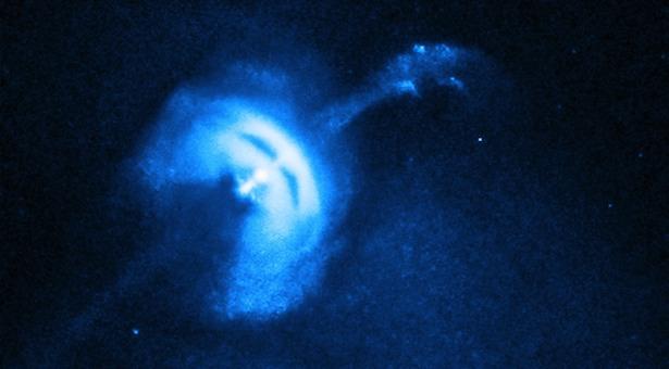 Pulsar Vela. Kredit: NASA/CXC/Univ of Toronto/M.Durant et al