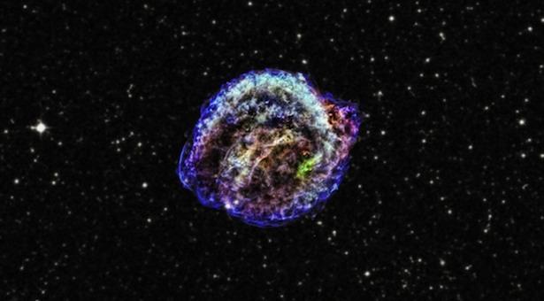 Sisa supernova Kepler. Kredit: Teleskop Chandra
