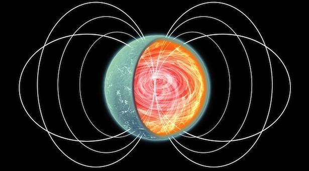 Ini bukan gambar permen yang dililit benang, lho! Tapi, ini mengilustrasikan sebuah magnetar, jenis bintang neutron yang sangat eksotis. Magnetar adalah salah satu objek paling ekstrim di jagad raya. (Kredit: NASA/CXC/M.Weiss)