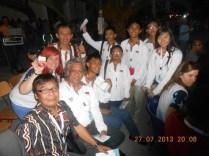 Tim Indonesia. Kredit: IOAA
