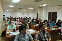Suasana di dalam kelas pada kegiatan belajar mengajar di ISYA 2013. Sumber foto: LAPAN.